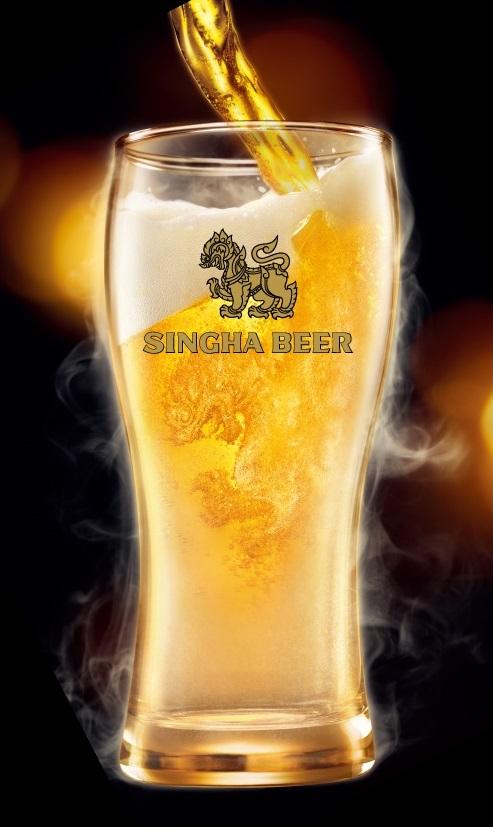 シンハー ドラフトビール
